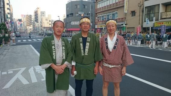 三社祭にて